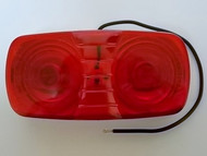 Truck-Lite 1211, Red, 26 Series M/C Light W/Permastat Cast Housing