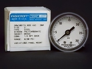 Ashcroft 20W1001TH 02B XUC 30# Panel Mount Gauge