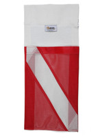 Finholder and More with Dive Flag Facsimile Pocket - Model FHZ 0001 DF