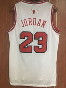 "Men's Swingman Chicago Bulls ""JORDAN"" Jersey White"