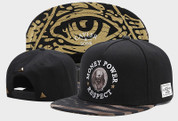 Men's Money Power Respect Snapback