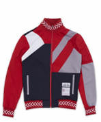 COURTSIDE TRACK JACKET - RED
