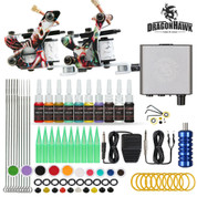 Complete 2 Gun Tattoo Machine kit