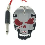 Skull Style Tattoo Power Supply Foot Pedal Switch Red