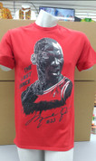 Mens Jordan last Dance T Shirt Red
