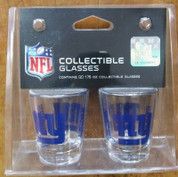 NFL NY Giants Shot Glasses