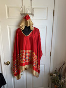 Womens Hooeded Poncho OS Style 12