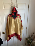 Womens Hooeded Poncho OS Style 14