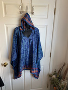Womens Hooeded Poncho OS Style 15