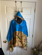 Womens Hooeded Poncho OS Style 16
