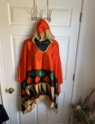 Womens Hooeded Poncho OS Style 17