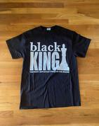 Mens Black King TShirt