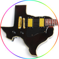 Miniature Guitar Collectible ZZ Top Texas Custom