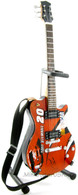 Tony Stewart Miniature Guitar Replica Collectible Silvertone NASCAR Guitar Art