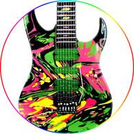 Steve Vai Swirled Universe Guitar Ibanez Jem 7 Strings