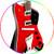 ZZ Top Miniature Guitar Replica Collectible Billy Gibbons Jupiter Signature