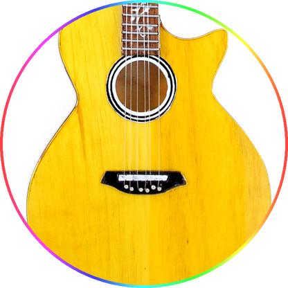 Dave Matthew Miniature Guitar Replica Collectible DMB T Acoustic Signature