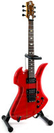 B.C. Rich Mockingbird SL Handcrafted Miniature Guitar Replica Collectible