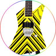 STRYPER Oz Fox Miniature Guitar Replica Collectible W 777