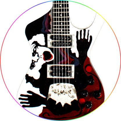 Daron Malakian System of a Down Signature Miniature Guitar Collectible