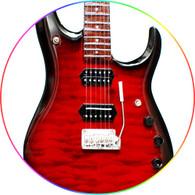 John Petrucci Red Guitar Miniature Signature