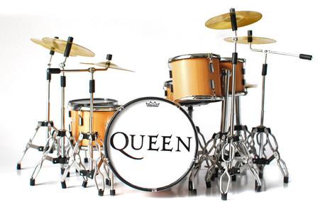 Queen Natual Wood Style Miniature Drums Super Mini