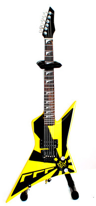 Oz Fox STRYPER Eclipse 777 Guitar Miniature Collectible