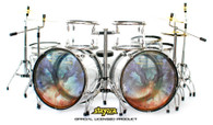 Robert Sweet STRYPER Clear Drums Miniature No More Hell to Pay