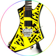 Michael Sweet STRYPER Trg Kelly Guitar Miniature Collectible