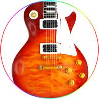 I Love Zeppelin Cherry Burst Number One Classic Guitar