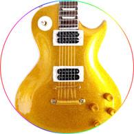 SLASH Guns 'n Roses Velvet Revolver Gold Top Theme Miniature Guitar Classic