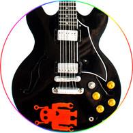 Sébastien Lefebvre Simple Plan Black Fr Astonout Robot Miniature Guitar Collectible