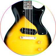 Billie Joe Armstrong Green Day Sunburst Miniature Guitar