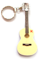 "Ed Sheeran Acoustic X Signature 4"" Miniature Guitar Fridge Magnet & Keychain"