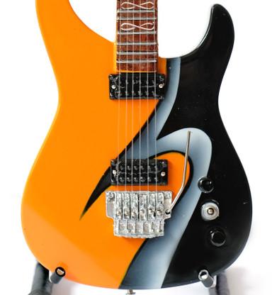 STRYPER Oz Fox 777 God Damn Evil Guitar Miniature Collectible