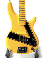 STRYPER Perry Richardson Bass C God Damn Evil Guitar Miniature Collectible