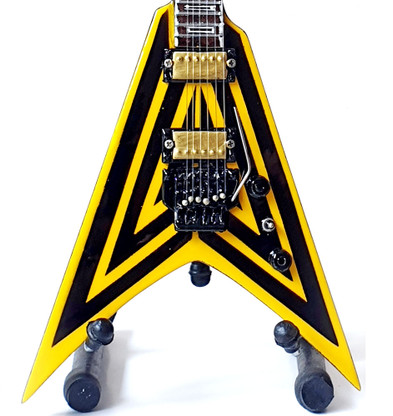 STRYPER Michael Sweet Sully MS Guitar Miniature Collectible Even The Devil Believes