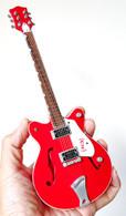 Bono U2 Red Miniature Guitar Replica Collectible