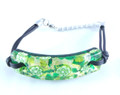 Green Gold Murano Glass Venetian Bracelet Jewelry SKU 26MG