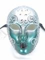 Green Volto Flavia Venetian Masquerade Mask SKU 094fgr