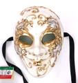 Creme Music Sinfonia Joker Venetian Masquerade Mask SKU 178