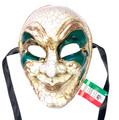 Green Joker Kre Venetian Masquerade Mask SKU 180