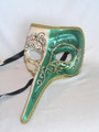 Green Nasone New Lillo Venetian Mask. SKU: 152