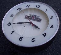 CUSTOM OLDSMOBILE NEON CLOCK