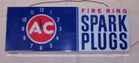 AC SPARK PLUG LIGHTED CLOCK