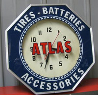 ATLAS NEON CLOCK