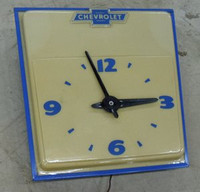 ORIGINAL CHEVROLET DEALER CLOCK