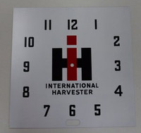 INTERNATIONAL NEON CLOCK FACE