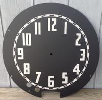 AZTEC CLEVELAND NEON CLOCK FACE