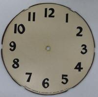 REPLACEMENT CLOCK FACE DECAL